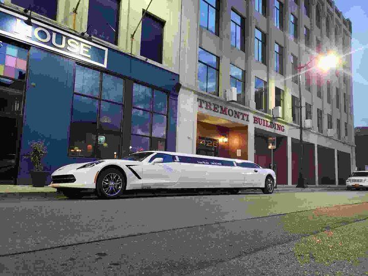 Detroit Corvette Limousine