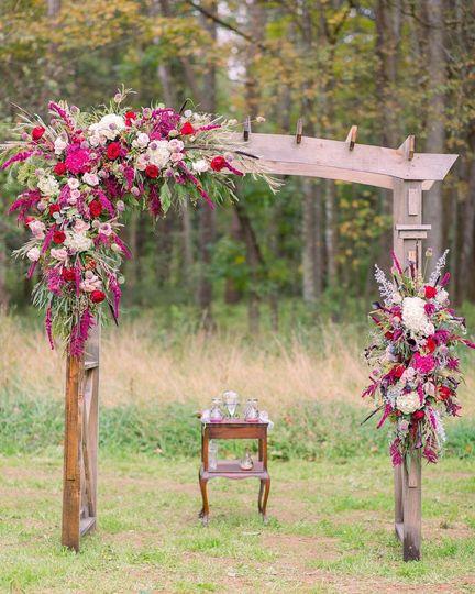 Arbor Decor/ Rustic/ Barn Wed