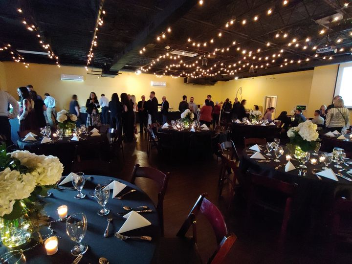 Event space layout