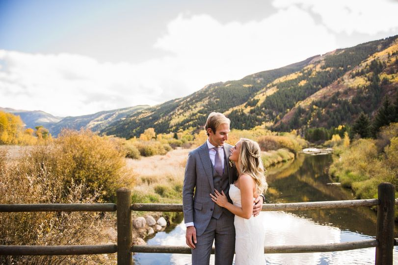 Aspen wedding - the look of love