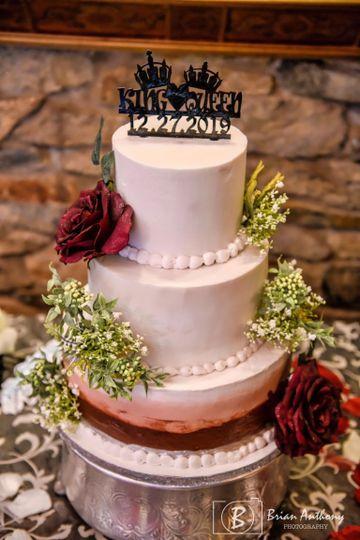 Curbside Cakery Wedding Cake