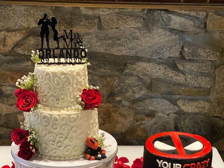 Tmx 119710597 1020576581699380 6302557171421434526 O 51 1512157 160047159259481 Stoneville, NC wedding cake