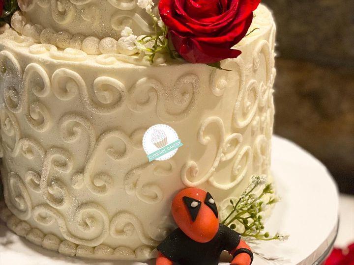 Tmx 119919970 1020576588366046 6352485418301957049 O 51 1512157 160047158773874 Stoneville, NC wedding cake
