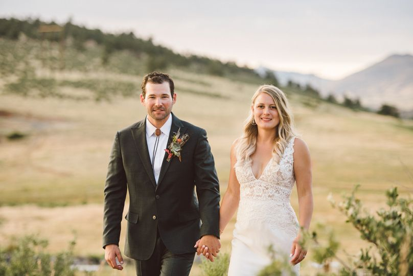 The happy couple - Colorado Wedding Photography