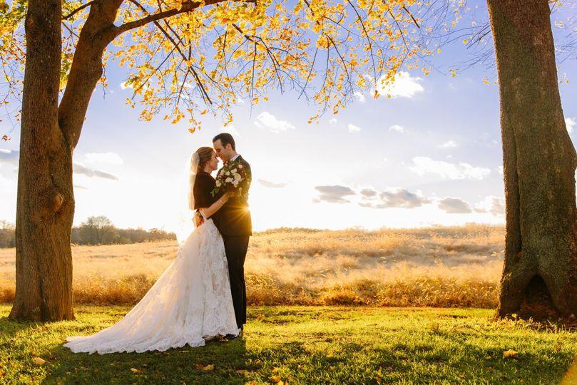Fall Couple