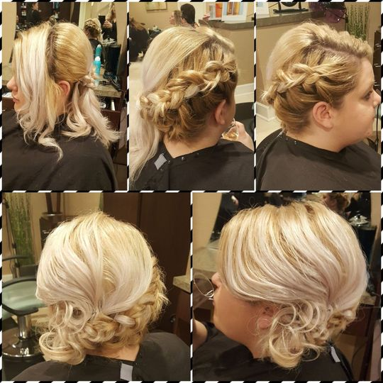 Beautful updos and styling