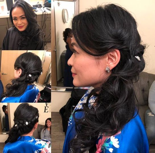 Bridal hair services