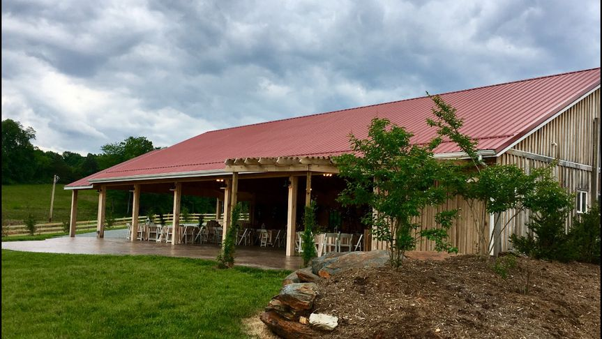 the pavilion at black water junction wedding venue
