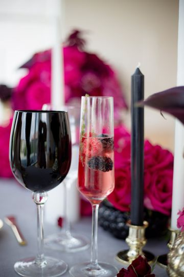 Everyone loves a good specialty cocktail!  Sparkling rose with blackberries and/or raspberries is a...