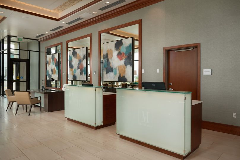 Front Desk Welcomes Guests