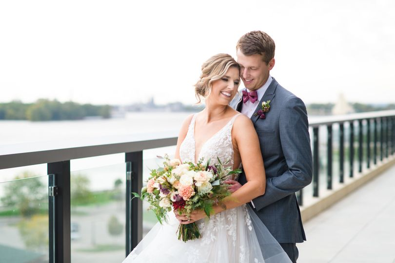 merrill wedding couple on balcony river 51 1005157 157541473145284