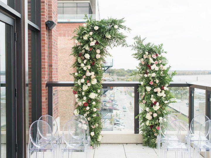 Tmx Merrill Wedding Ceremony On Balcony Set Up 51 1005157 157541450770269 Muscatine, IA wedding venue