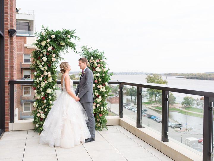 Tmx Merrill Wedding Ceremony On Balcony 51 1005157 157541450795148 Muscatine, IA wedding venue