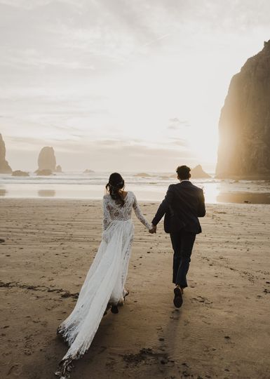 Shay + Tanner at Cannon Beach