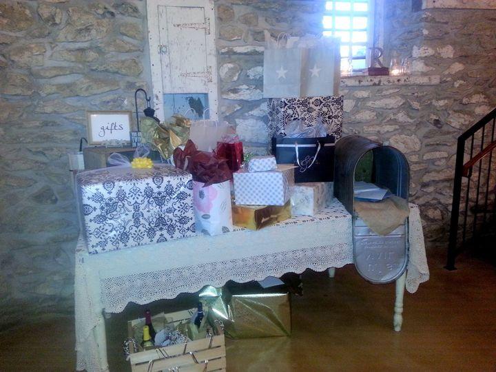 Tmx 1420659770981 Farm Table And Mailbox Lancaster wedding rental