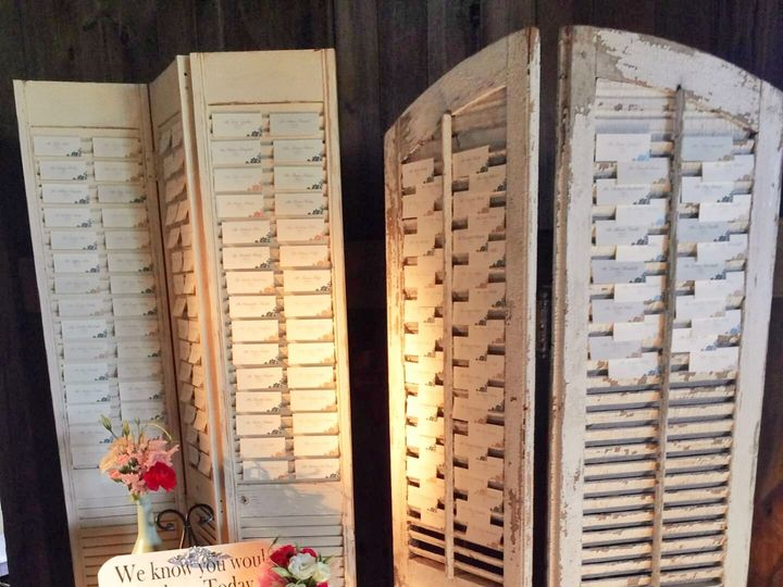 Tmx 1420659997240 Shutters For Place Cards Lancaster wedding rental