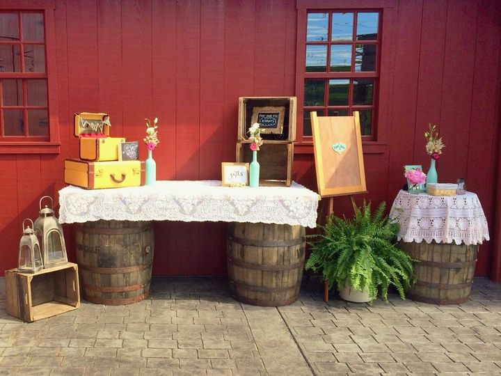Tmx 1420660017601 Whiskey Barrel Table Lancaster wedding rental