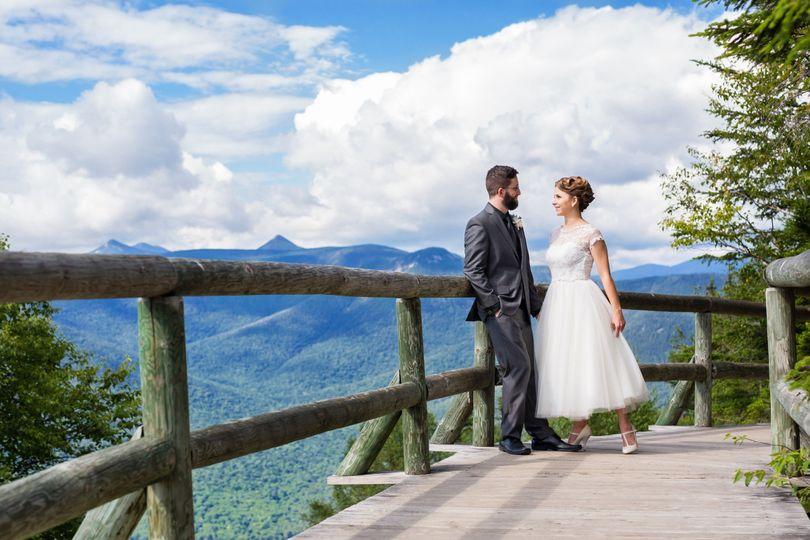 Loon Mountain Resort Outdoor Mountain Wedding New Hampshire