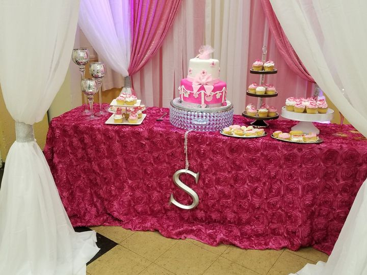 Sweet and cake table