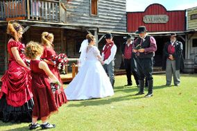 Rustic Weddings at Rollins Creek Old West Town