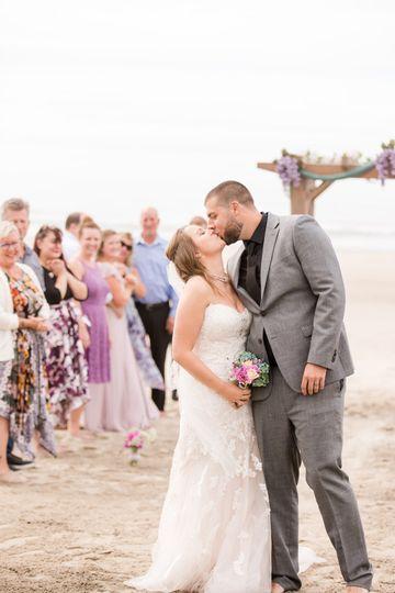 Beach-side ceremony