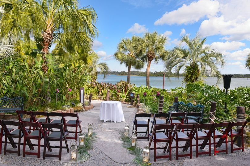 Oceanic views for the ceremony