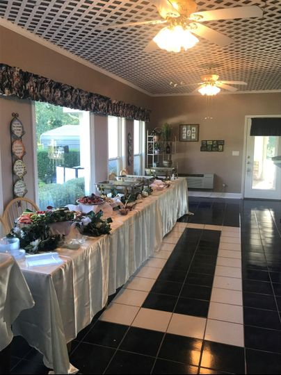 Reception Buffet