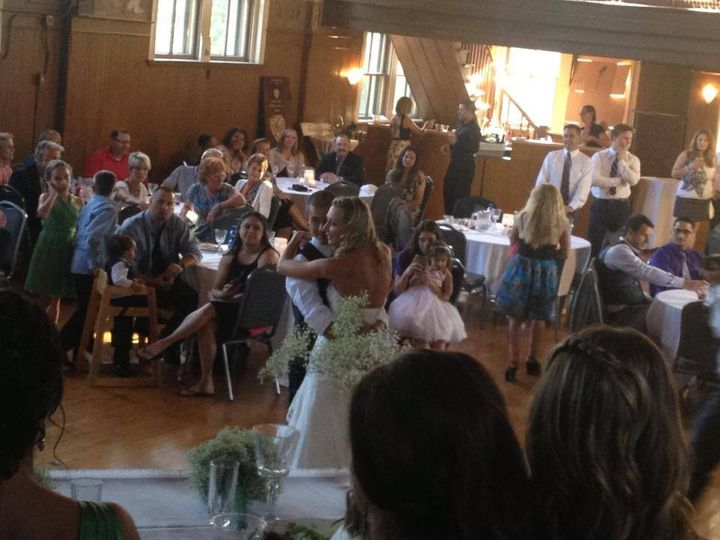 First dance at the Kemper Center in Kenosha, WI