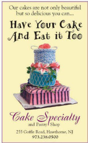 Cake Specialty, Inc.