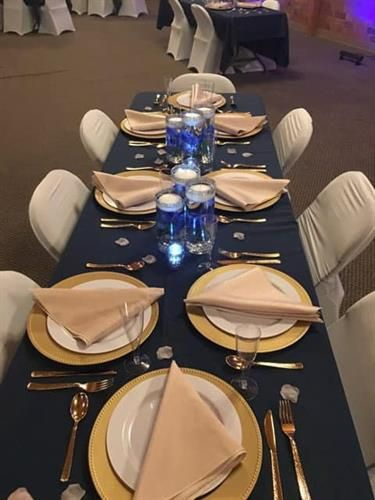Table Set- (engagement party )