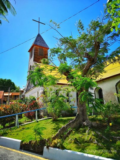 Little church in Guadeloupe