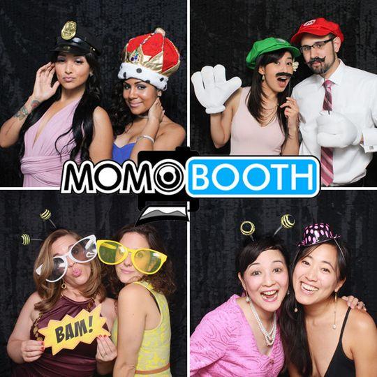 weddingwire momobooth profile