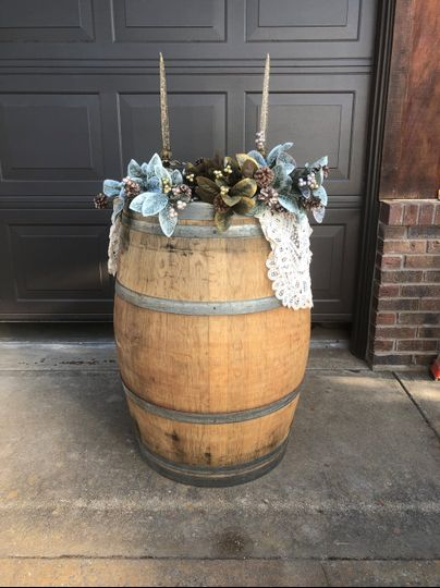 Wine Barrel (6 available)