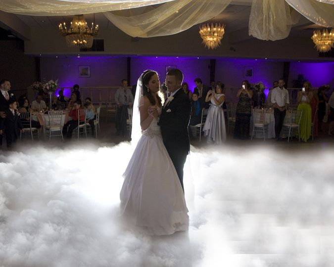 Cloud fist dance fog machine