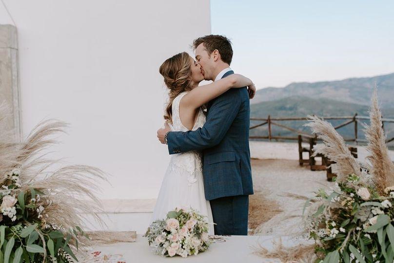 Wedding in Skyros island