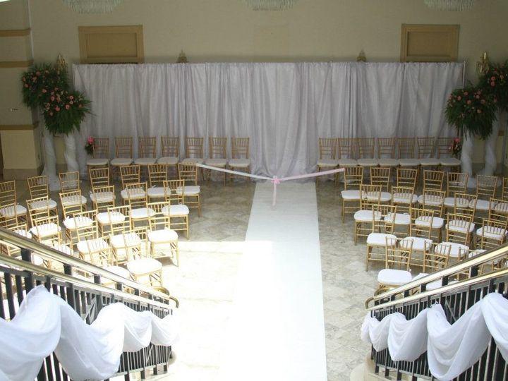 Tmx 1391268187858 Silk Draping With Gold Chair Virginia Beach, VA wedding rental