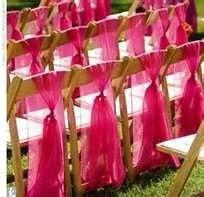 Tmx 1391268810063 Folding Wood Brown Chairs Fushia Sas Virginia Beach, VA wedding rental