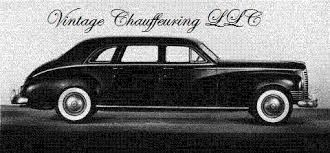 Vintage Chauffeuring