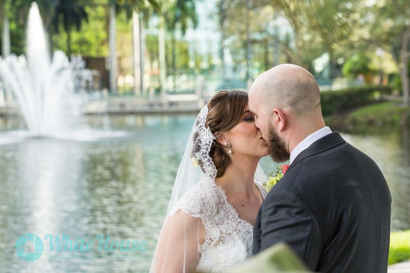 Newlywed Husband and Wife Portrait Session in Boca Raton Florida