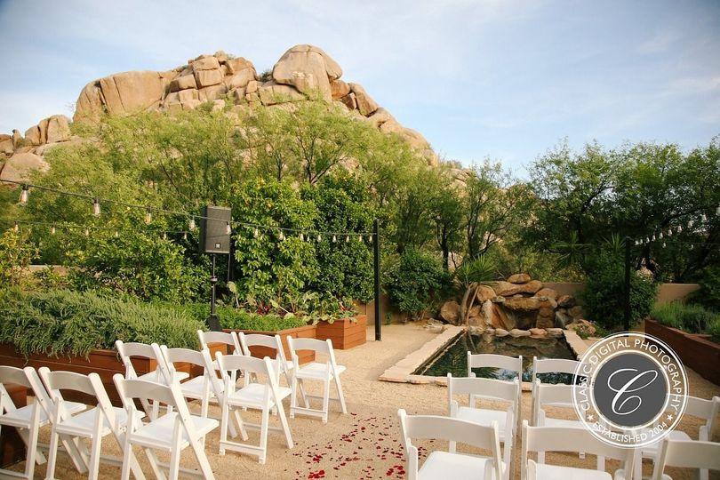 Organic Garden Ceremony