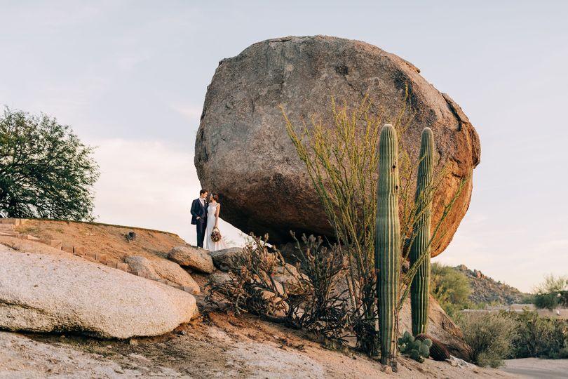 Rosie's Rock intimate wedding