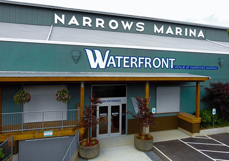 The Waterfront Venue front exterior