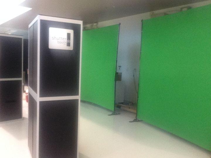 Dual ShutterBooth open green screen booths!