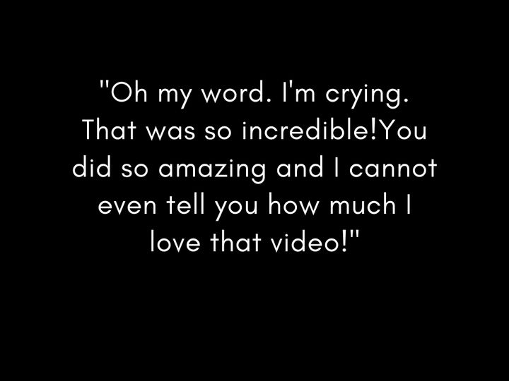Tmx  Oh My Word Im Crying That Was So Incredibleyou Did So Amazing And I Cannot Even Tell You How Much I Love That Video  51 1895257 158706881643470 Liberty, KY wedding videography