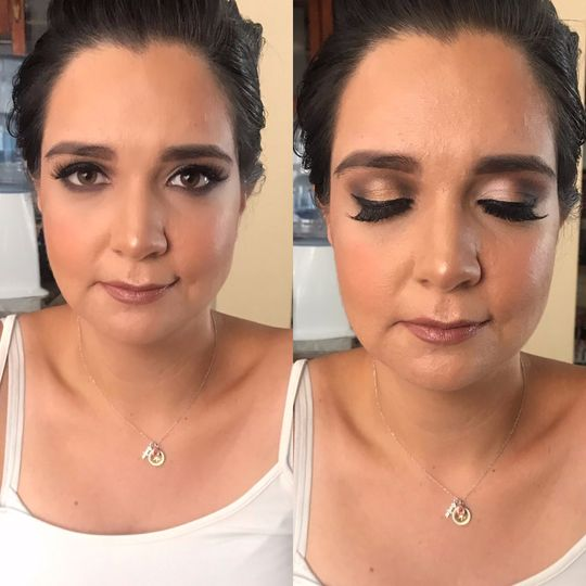 MAKEUP TRIAL AND HAIR
