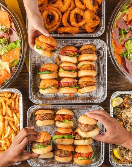 Buffet of yummy goodness