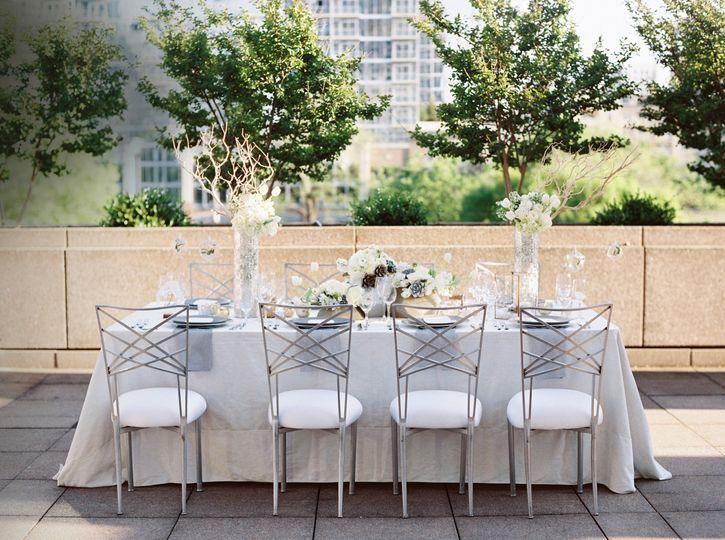 Outdoor Terrace Reception
