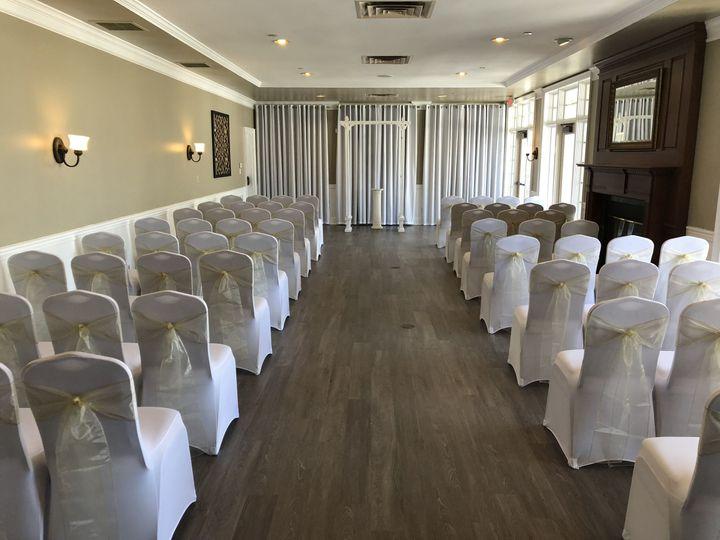 Indoor ceremony room