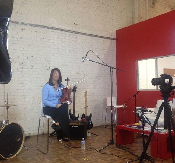 Studio Session in Los Angeles