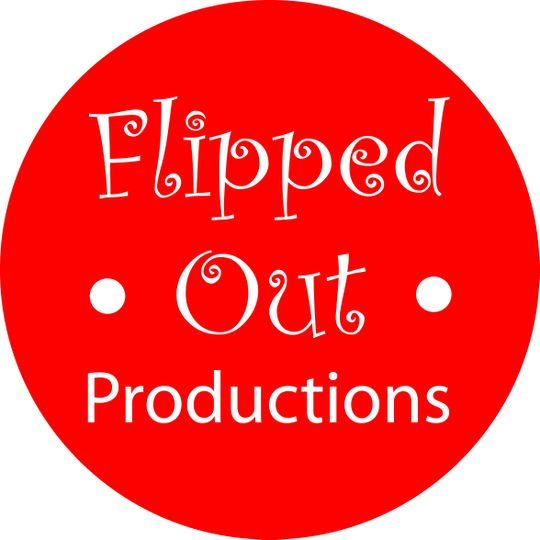 flipped out productions logo